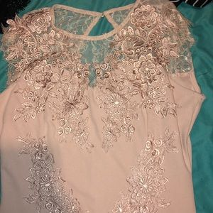 Nude prom dress or any event dress